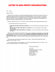Motivation Letter for Non Profit Organizations